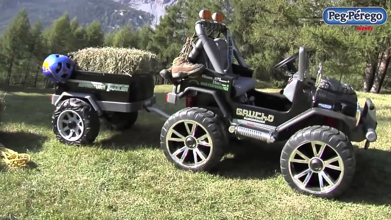 peg perego jeep gaucho superpower youtube. Black Bedroom Furniture Sets. Home Design Ideas