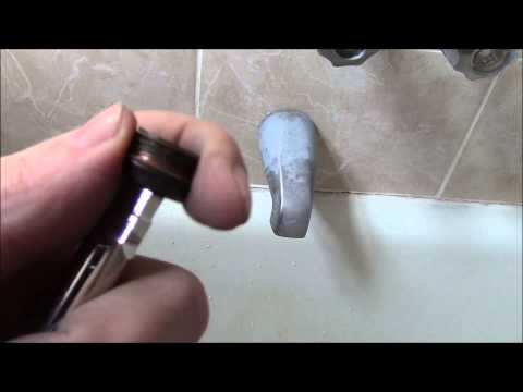 How To Replace A Bathtub Faucet Seat Quick And Easy Youtube
