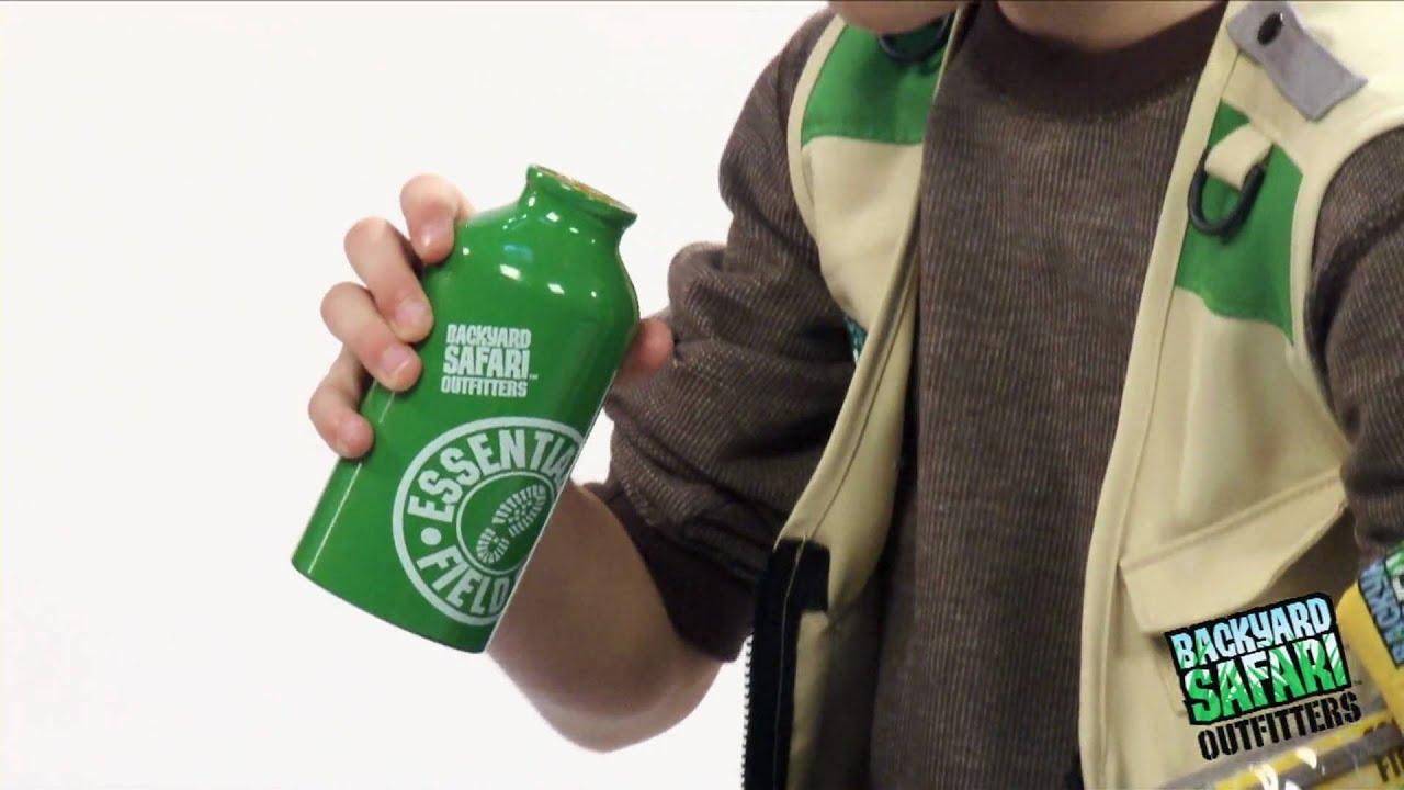 water flask u0026 safari bandana youtube