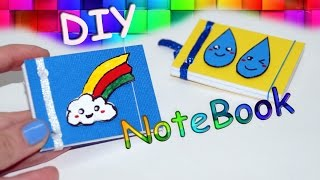 DIY Kawaii notebooks / Ideas for school / DIY MINI NOTEBOOKS - Easy & Cute Designs! / Julia DIY