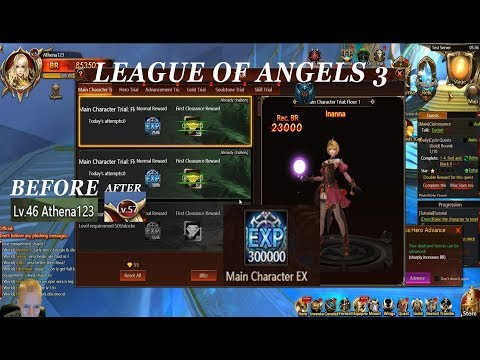 A GREAT WAY TO LEVEL UP FAST in League of Angels 3 - Episode 3