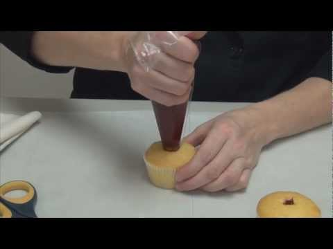 How To Fill And Frost A Cupcake By ShopBakersNook.com