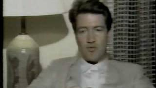 David Lynch Canadian TV Interview 1986 (Blue Velvet)