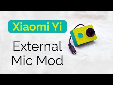2 DIY Microphone hacks for the YI Action Camera - DIY