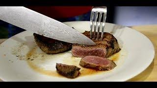 Мраморный стейк для бедных? Готовим шницель мираторг с винным соусом (Пошаговый рецепт)