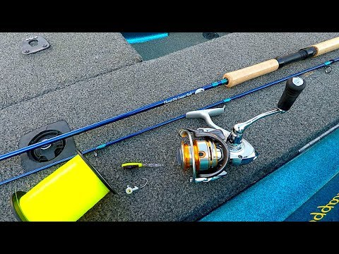 How To Set Up A Reel And Rod For Beginners