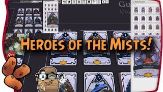 Guild Wars 2 Heroes of The Mists - The Tyrian Tabletop Simulator Card Game