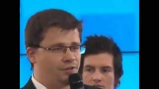 Харламов шутка с  Медведевым