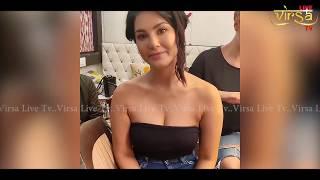 Sunny Leone का यह Makeup देख कर आप भी हो जायेंगे हैरान