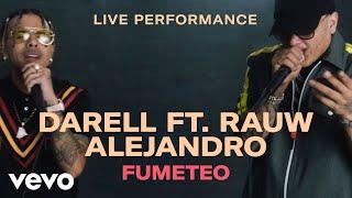 "Darell - ""Fumeteo"" Live Performance | Vevo ft. Rauw Alejandro"