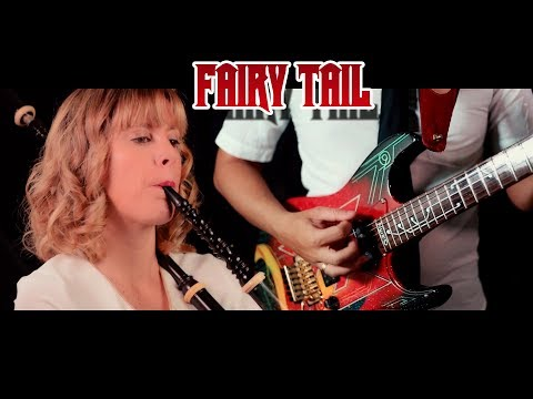 Fairy Tail – Three Dragon Slayers (Bagpipes & Guitar cover) || Tifita ft. Guitarrista de Atena