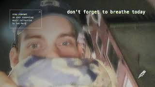 Play don't forget to breathe today
