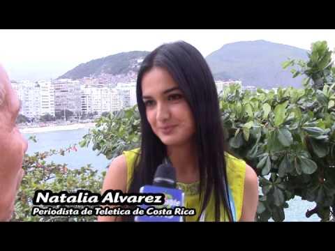 Natalia Alvarez periodista de Costa Rica en Best Cable