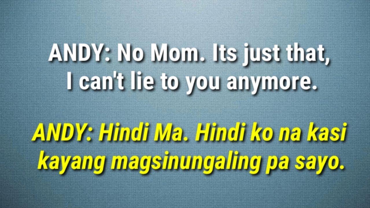 English to Tagalog Conversations- Saying SORRY - YouTube