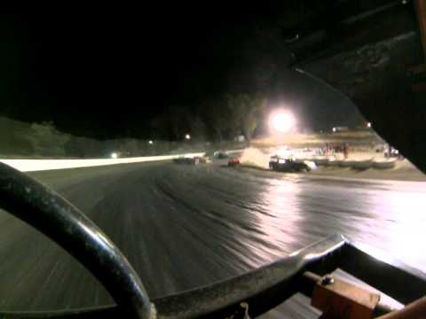 Santa Maria Speedway Nationals Austin Ruskauff Hobby Stock #88R Main View 2 Part 1 5/26/13
