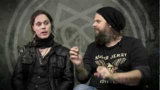 Ville and Mige HIM Interview Metal Hammer Tears On Tape Tracks 1 5