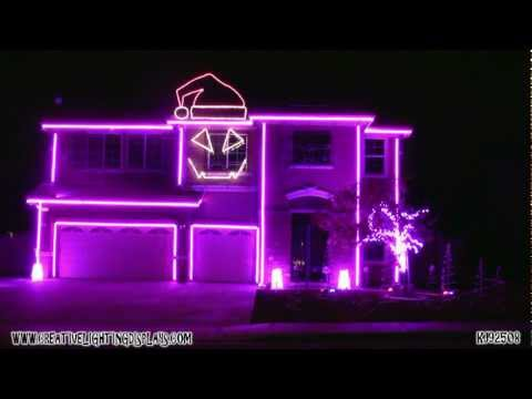 Christmas Light Show 2011 - Sexy and I Know It Travel Video