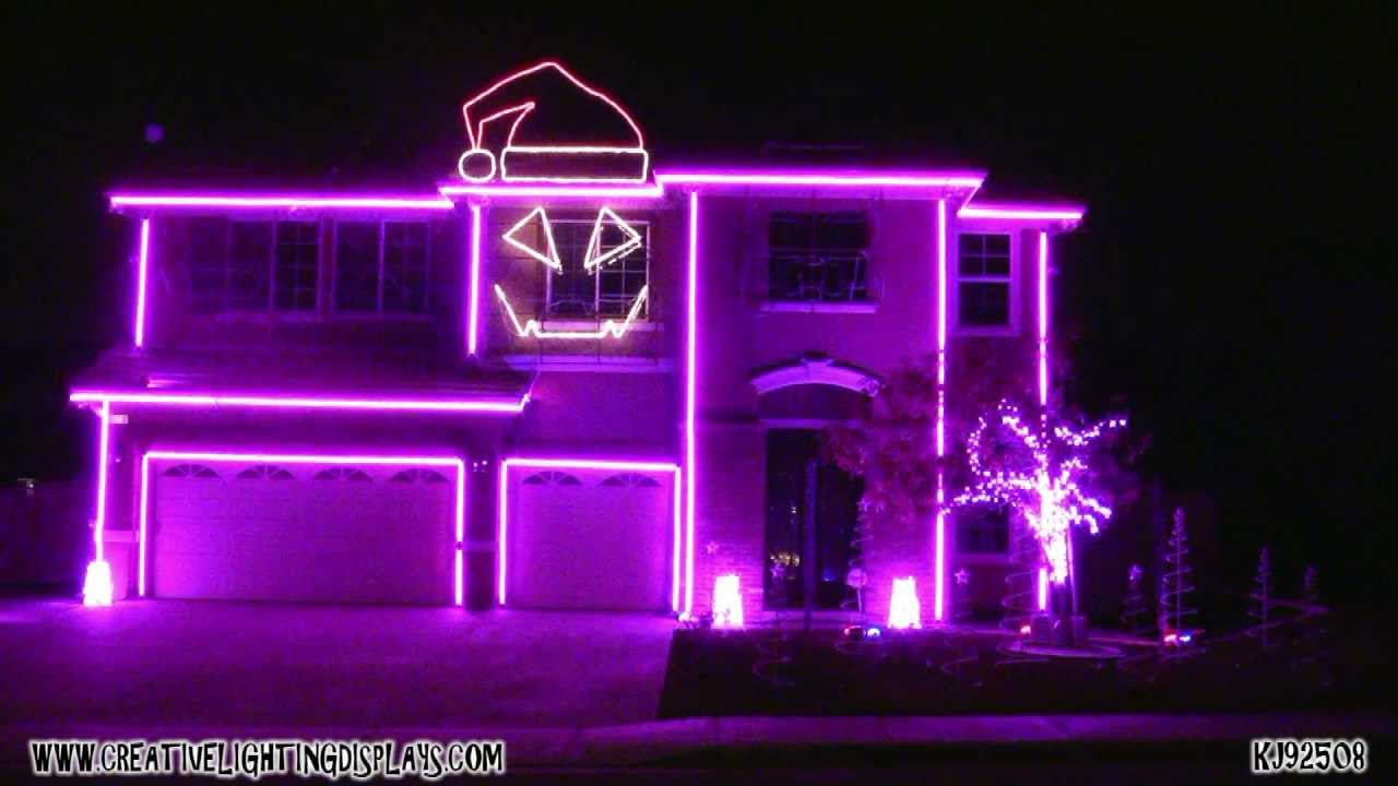 christmas light show 2011 sexy and i know it youtube
