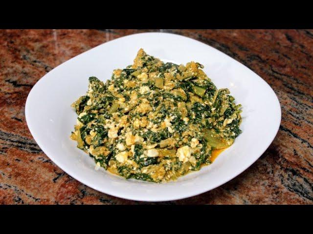 👩🏼🍳Пролетна каша от лапад с яйца и сирене/Бърз и лесен обяд