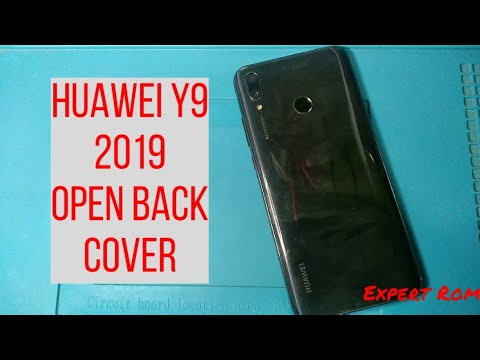 Huawei Y9 (2019) How To Open Back Cover