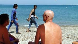 Kulturschock: Flüchtlingsdrama im Urlauberparadies