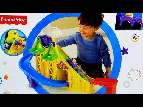 Loops 'n Swoops Amusement Park / Lunapark Małych Odkrywców - Wheelies - Little People - Fisher Price