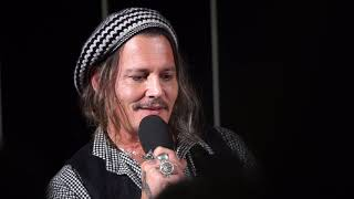 Johnny Depp ZFF a conversation with Filmpodium Zurich talks about Edward Scissorhands