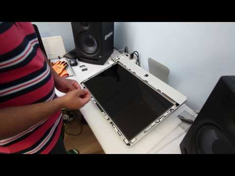 Apple iMac Fix/Change replace Cracked Front Broken Glass Screen