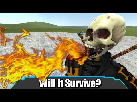 Who Can Survive Scorpion's Fatality? | Garry's Mod | Will It Survive?