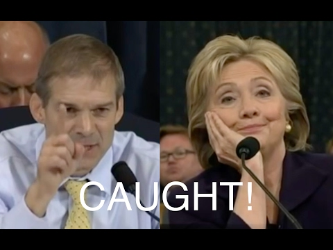 Jim Jordan Exposes Hillary Clinton's Lies!