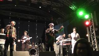 The Abyssinians - Satta Massagana - Live @ Bristol Vegfest 26th May 2013