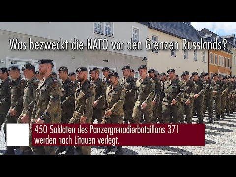 Druschba-Freundschaftsfahrt Russland 2017 - Was bezweckt die NATO an der Grenze Russlands?