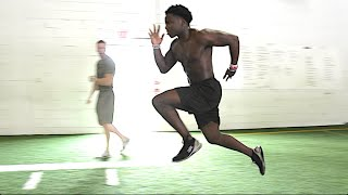 Top Speed & Lower Body Athletes Training | Overtime Athletes