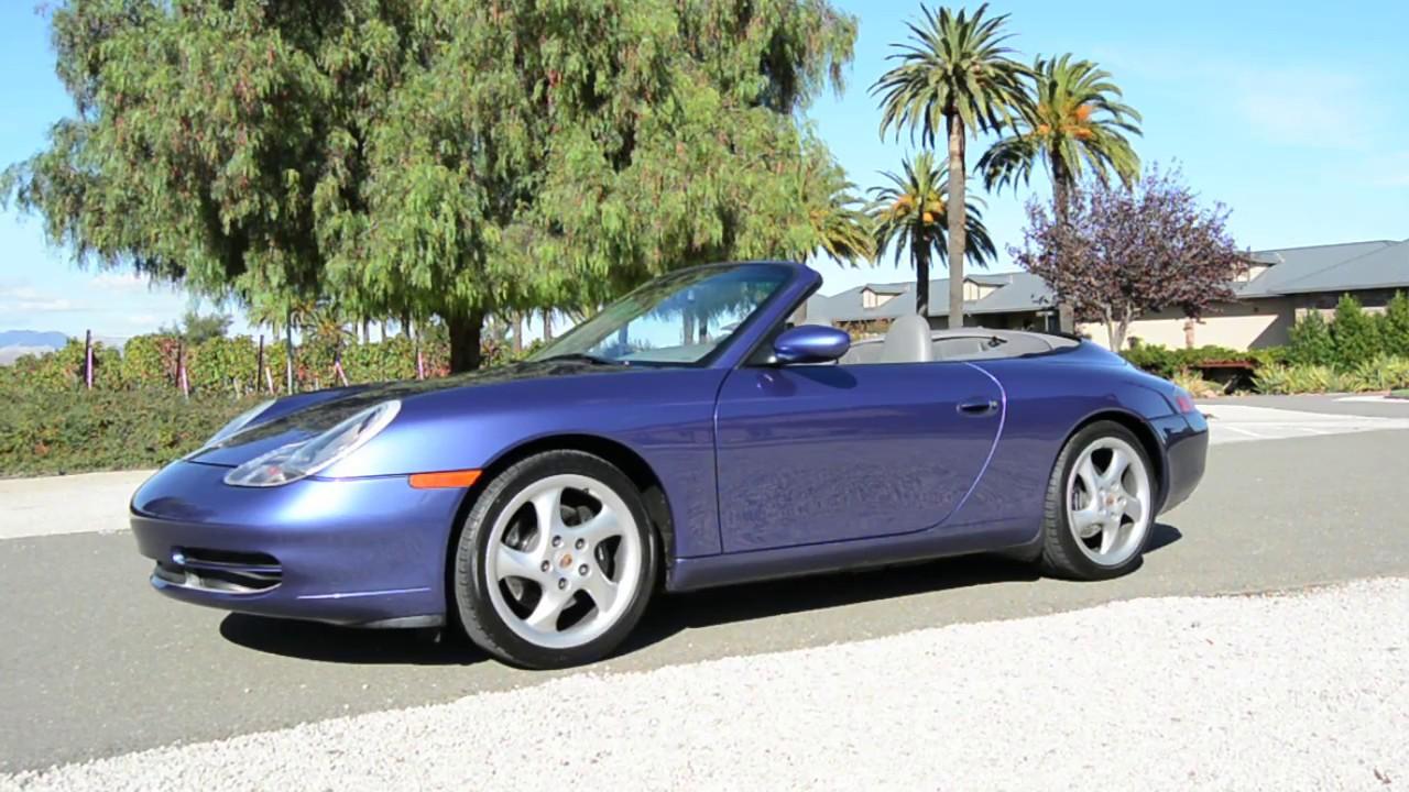 2000 Porsche 911 Carrera Cabriolet Zenith Blue