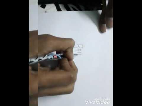 Rahul name art video