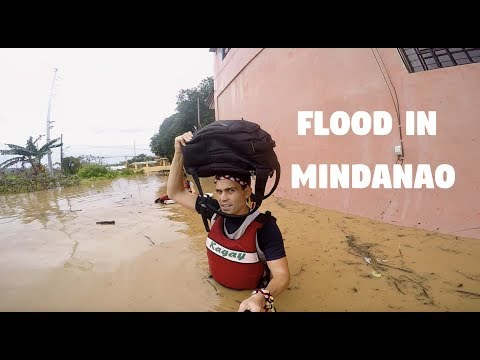 EVACUATING A FLOOD IN THE PHILIPPINES (Tropical Storm Vinta, Cagayan de Oro)