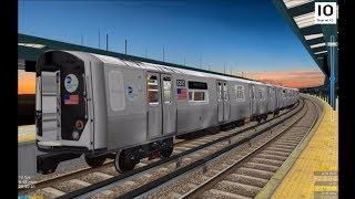 OpenBVE HD: New York City Subway R160 Alstom ONIX AC Propulsion Sound Modification Shorts