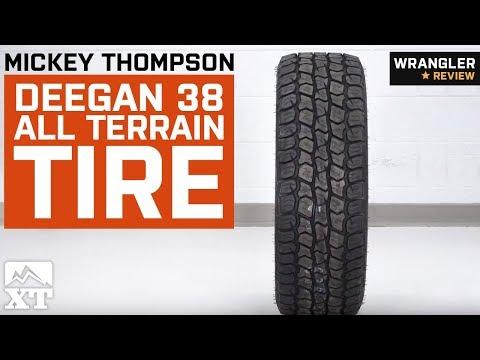 """Jeep Wrangler Mickey Thompson Deegan 38 All Terrain Tire (29-35"""") (1987-2018 YJ, TJ, JK & JL) Review"""