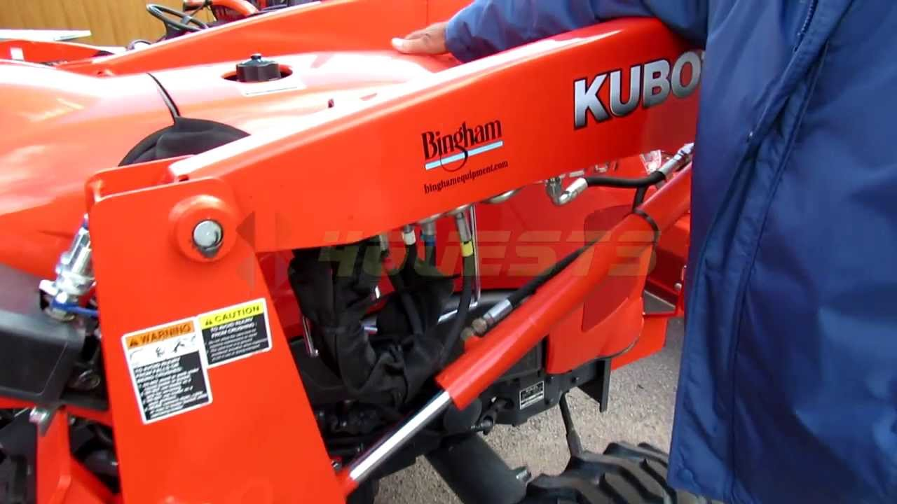 NEW KUBOTA L3901 vs L3800 TRACTOR