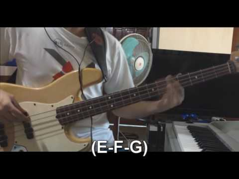 In Jesus Name By Israel Houghton \u0026 New Breed (Bass Lesson W/TABS)