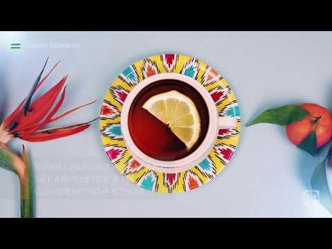 Узоры атласа и сюзане: как ташкентская мастерица создает уникальную расписную посуду