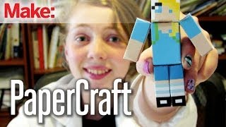 Sylvia's Super Awesome Mini Maker Show: Paper Craft Projects