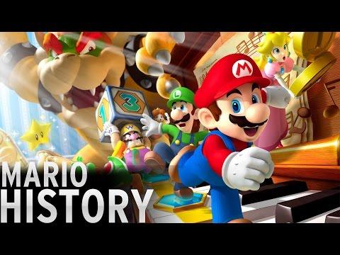 History of - Mario (1981-2016)