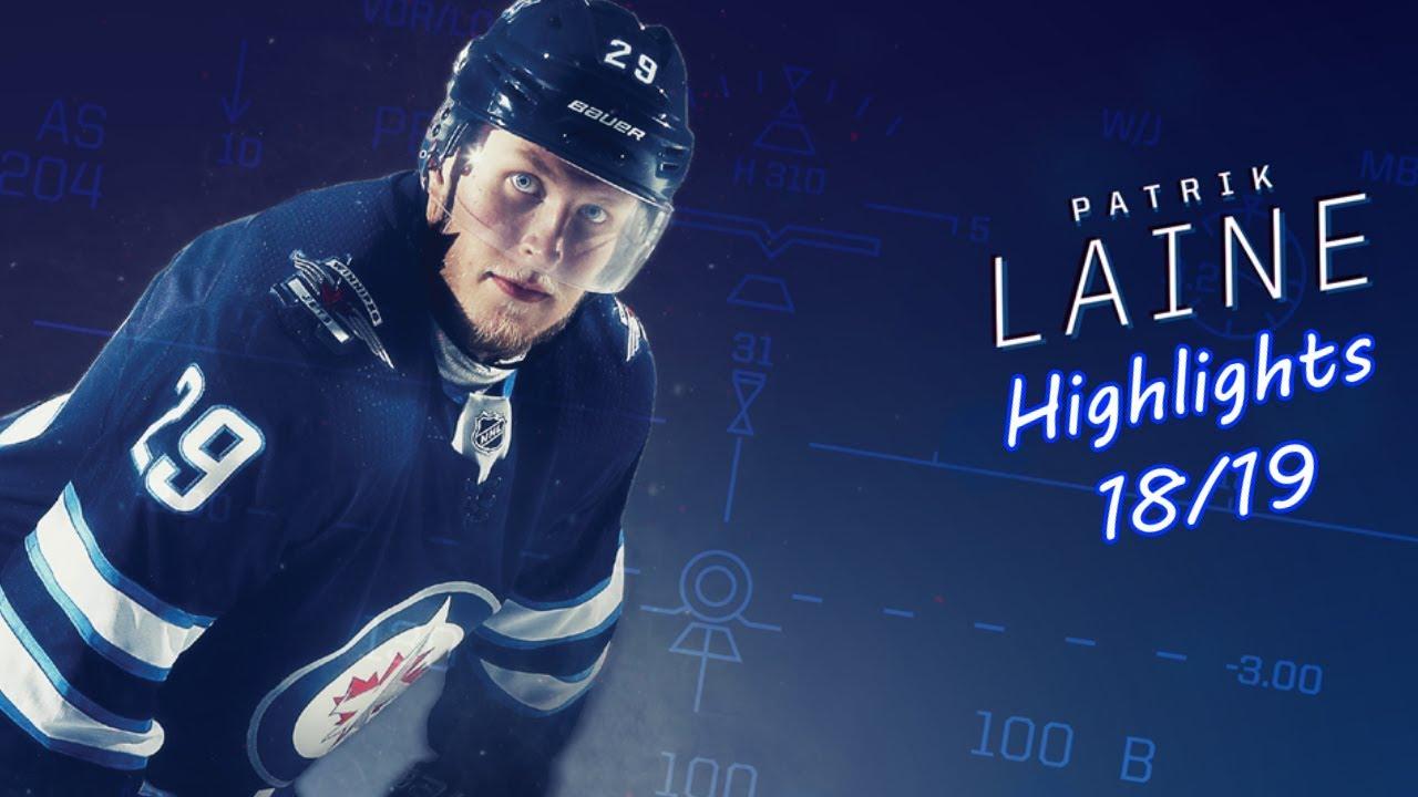 Patrik Laine Winnipeg Jets Highlights 18 19 Youtube