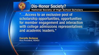 National Organization of High School Scholars misleads students