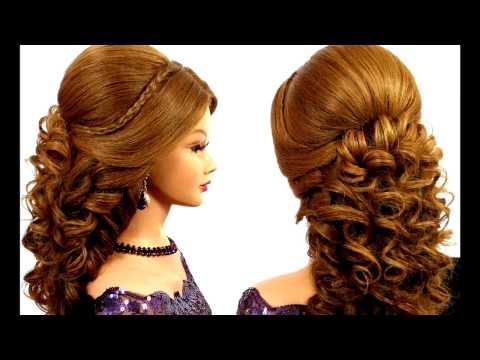 красивые вечерние прически на длинные волосы/Beautiful hairstyles for long hair