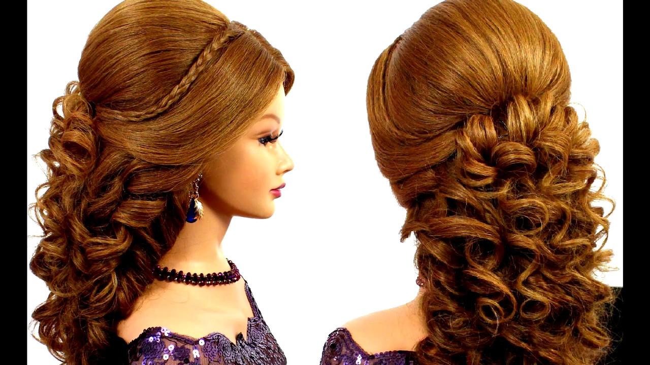 красивые вечерние прически на длинные волосы/Beautiful ...
