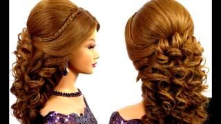красивые вечерние прически на длинные волосы/Beautiful hairstyles for long hair(, 2016-10-27T14:09:13.000Z)