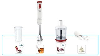 Unboxing and Review blender Philips HR1627