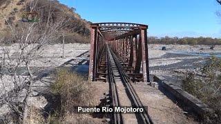 De Campo Santo al túnel y puente del Río Mojotoro a bordo de una GT de Belgrano Cargas